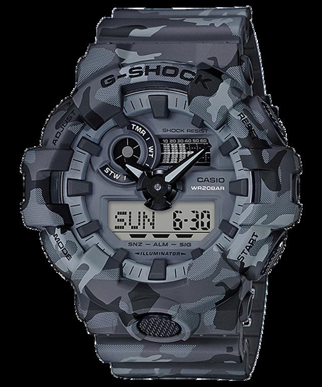 G-Shock Ana/Digital Camo Series GA-700CM-8A