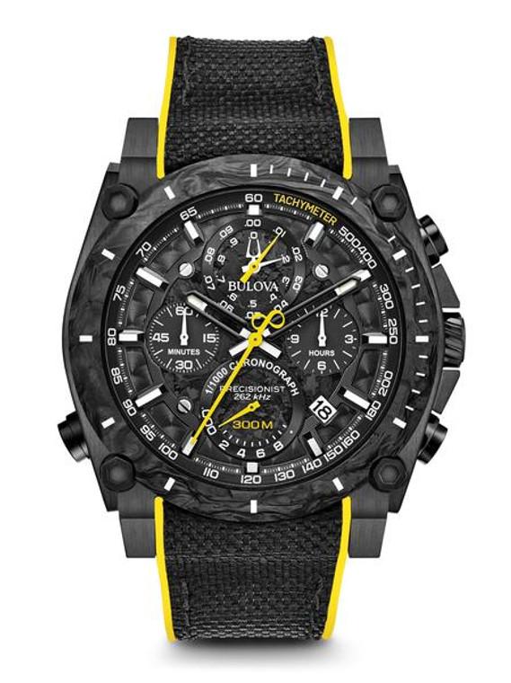 Bulova Men's  Precisionist Chronograph Watch- 98B312