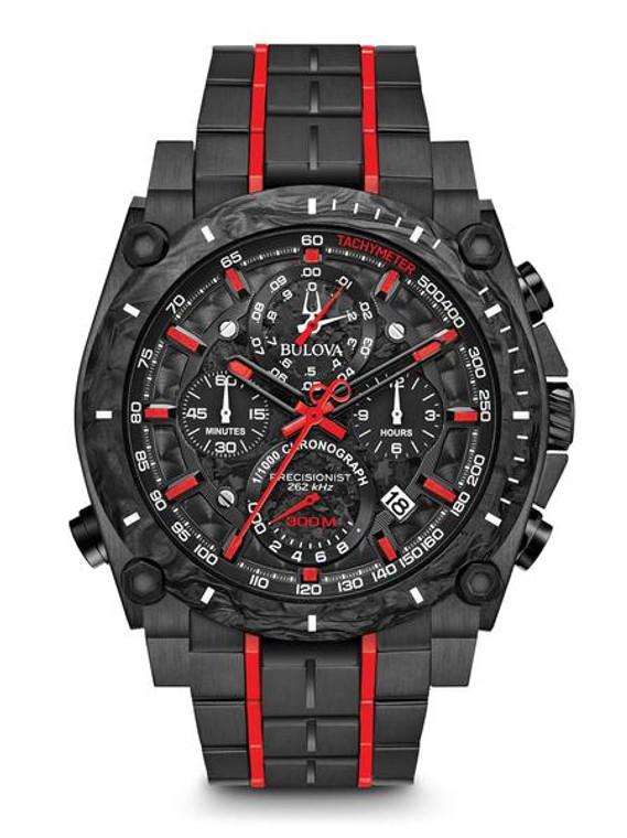 Bulova Men's  Precisionist Chronograph Watch- 98B313