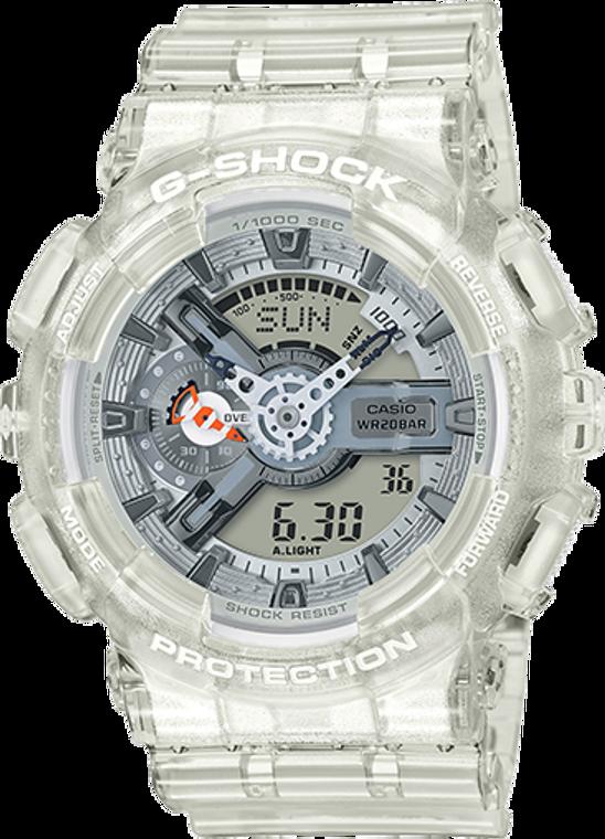 Casio G-Shock Ana-Digital Clear Resin GA110CR-7A