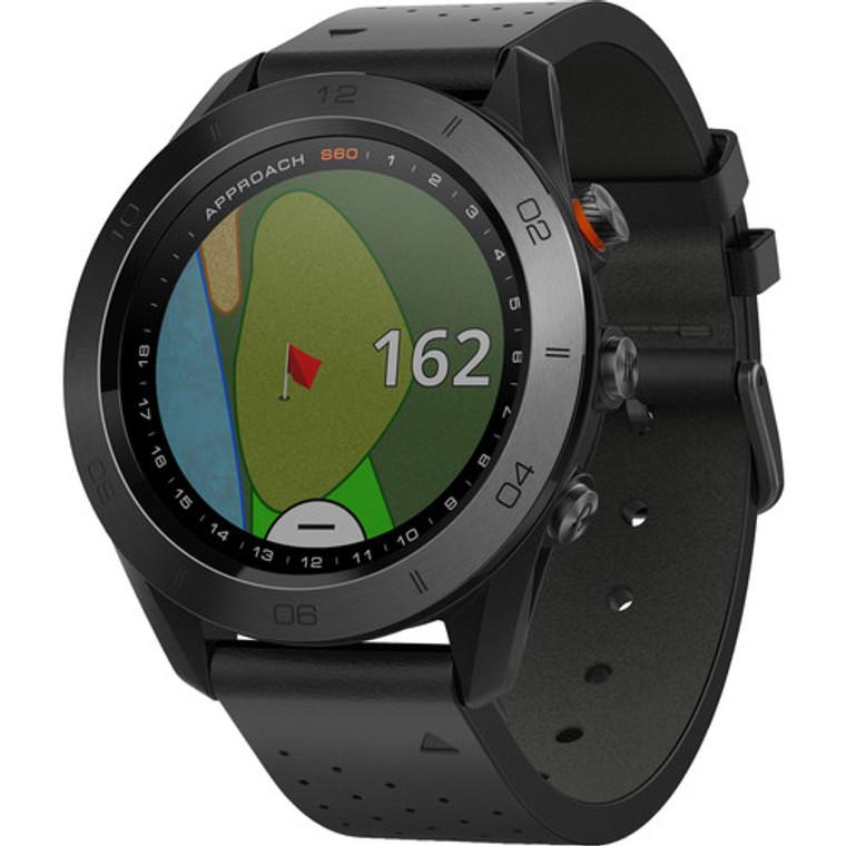 Garmin Approach S60 GPS Watch Black Ceramic