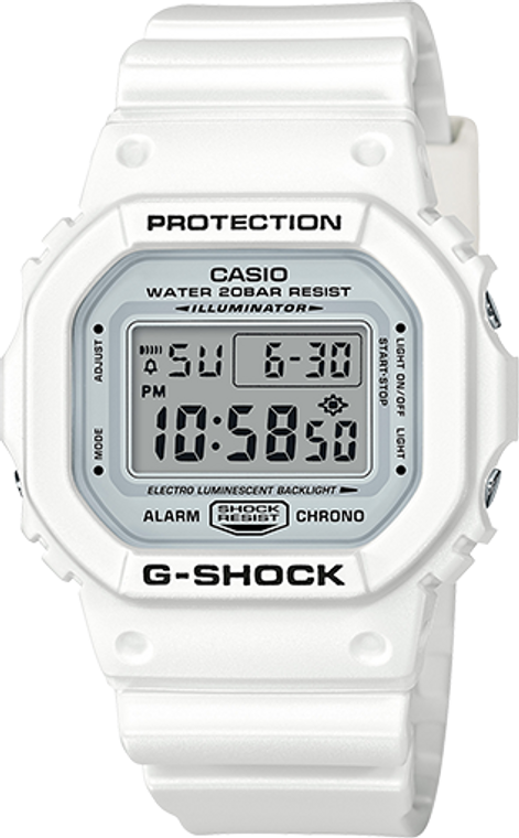 Casio G-Shock Classic Marine White Limited Edition DW5600MW-7