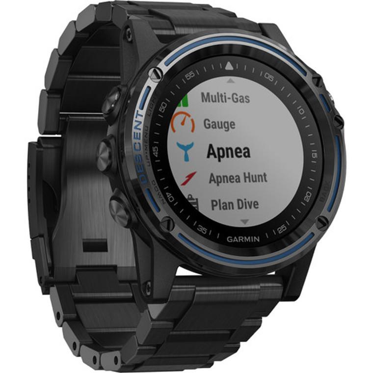 Garmin Descent Mk1 GPS Dive Watch Gray Sapphire with DLC Titanium Band
