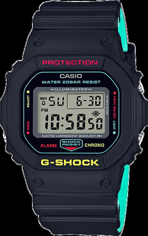 Casio G-Shock Classic Breezy Rasta Color DW5600CMB-1