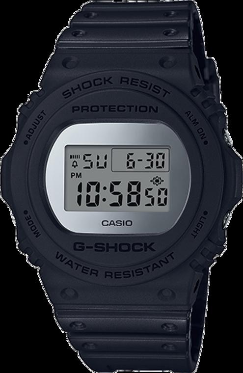 Casio G-Shock Classic Digital Mirror Face  DW-5700BBMA-1