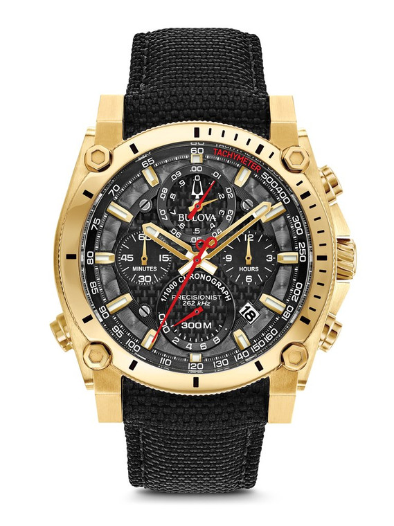 Bulova Men's  Precisionist Chronograph Watch- 97B178