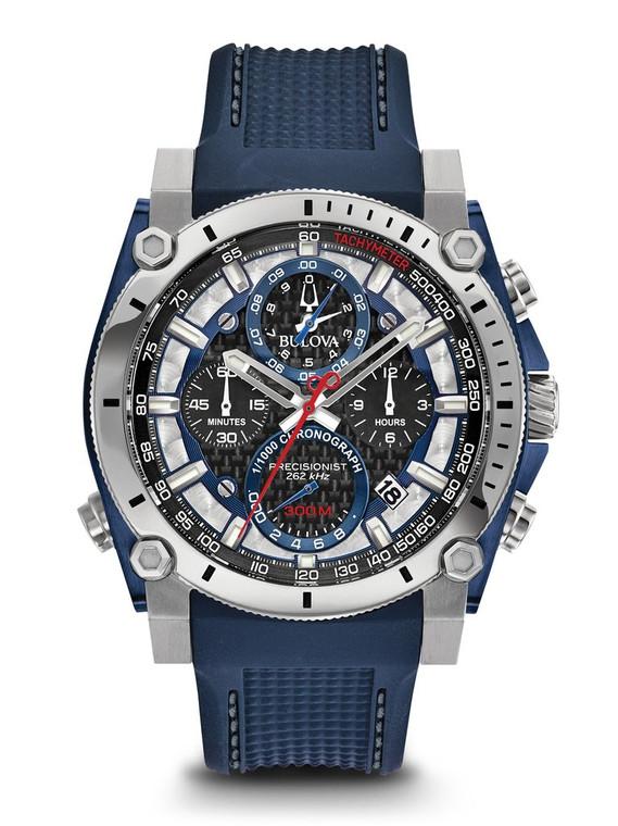 Bulova Men's  Precisionist Chronograph Watch- 98B315