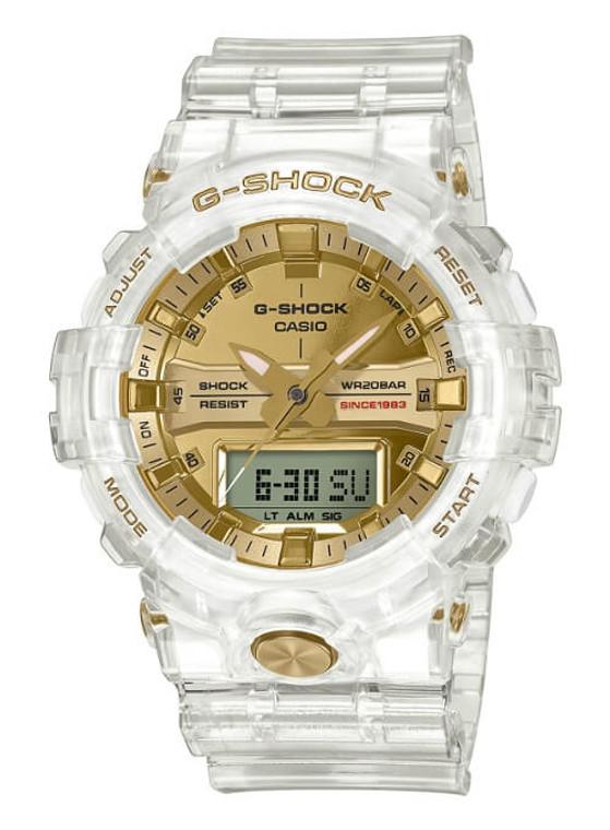 """Casio G-Shock 35th Anniversary """"Glacier Gold"""" GA-835E-7"""