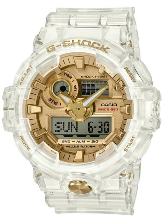 """Casio G-Shock 35th Anniversary """"Glacier Gold"""" GA-735E-7"""