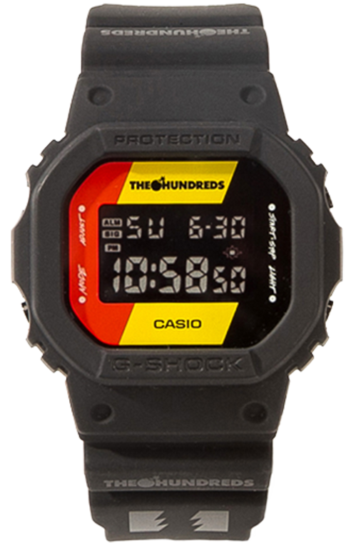"""Casio G-Shock """"The Hundreds"""" Collaboration DW-5600HDR-1"""