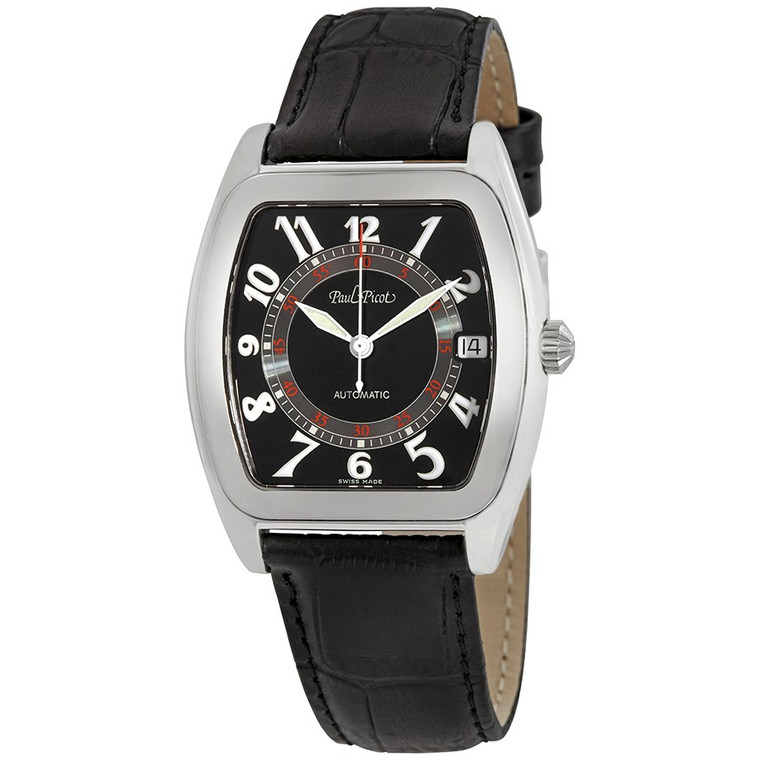 Paul Picot Firshire Automatic Black Dial P4006.20.363