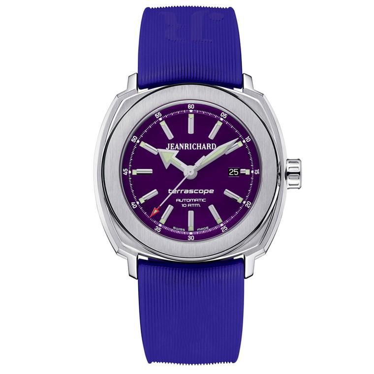 JEANRICHARD Terrascope Purple 60500-11-D01-FKDA