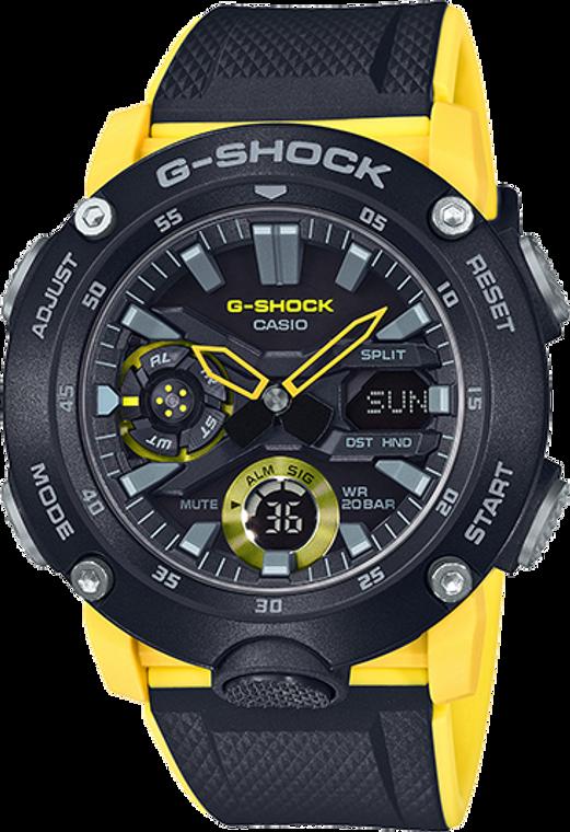 "Casio G-Shock Ana-Digital ""G Carbon"" GA-2000-1A9"