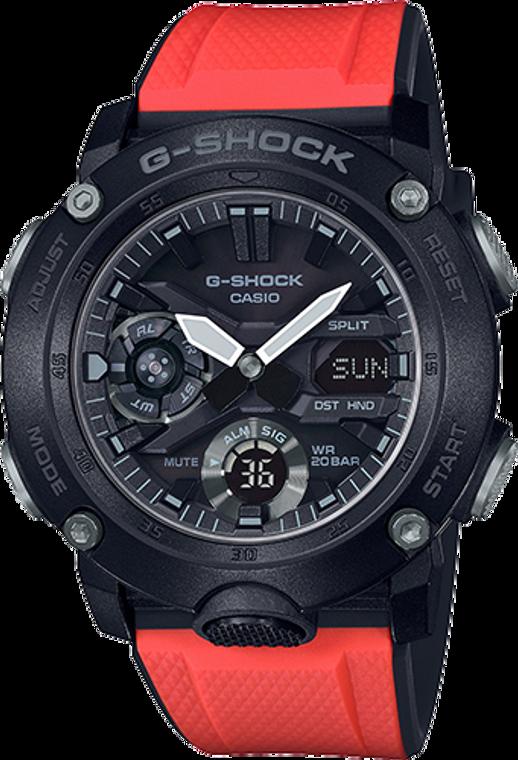 """Casio G-Shock Ana-Digital """"G Carbon"""" GA-2000E-4"""