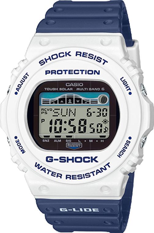 Casio G-Shock 2019 Summer G-Lide Safe Shark Edition GWX-5700SS-7