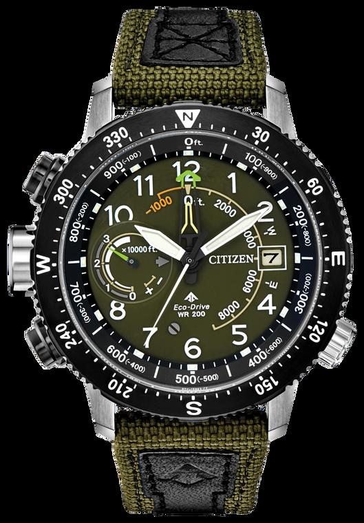 Citizen Eco-Drive BN5050-09X Promaster Tough Altichron