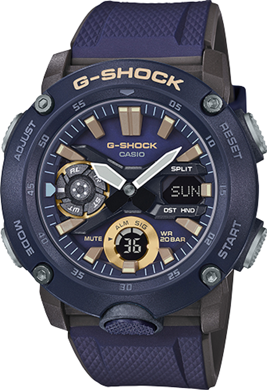 Casio G-Shock GA2000-2A Digital Shock Resistant Watch