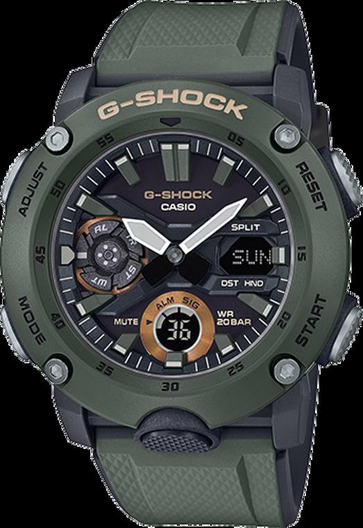 Casio G-Shock GA2000-3A Digital Shock Resistant Watch