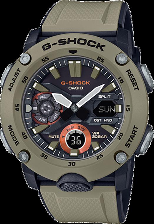 Casio G-Shock GA2000-5A Digital Shock Resistant Watch