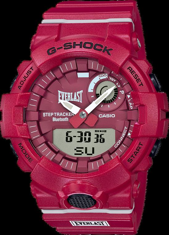 Casio G-Shock GBA800EL-4A Limited Edition Everlast Red Watch