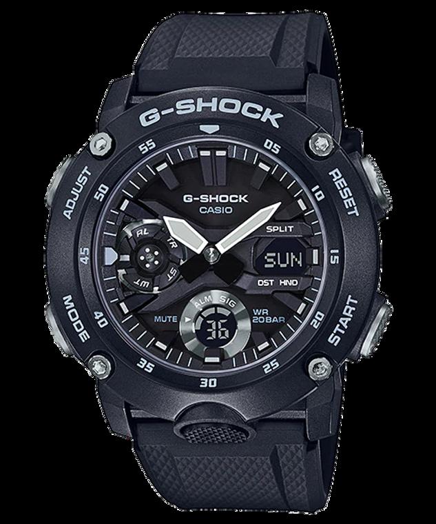 Casio G-Shock GA-2000S-1 Front Button Watch