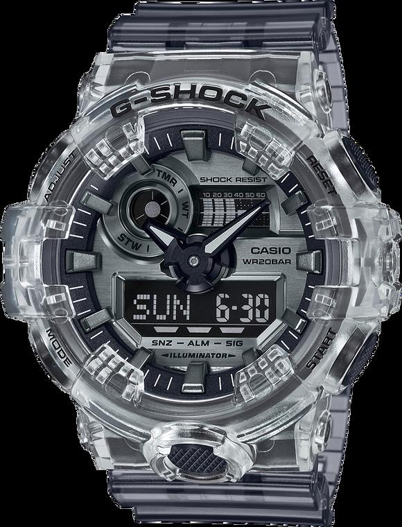 Casio G-Shock GA700SK-1A Ana-Digital Transparent Metallic Tone Watch