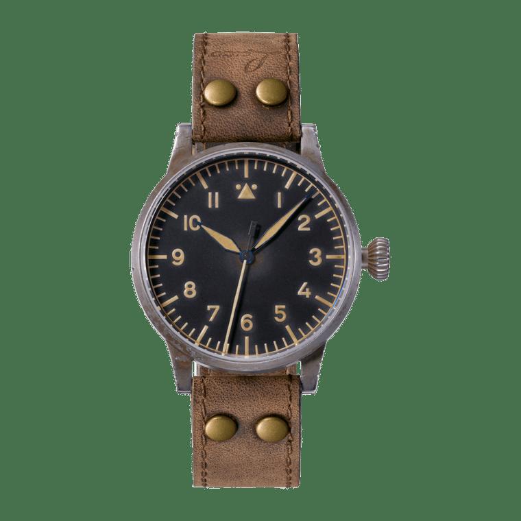 Laco Pilot Watch Original SAARBRUCKEN ERBSTUCK 861933