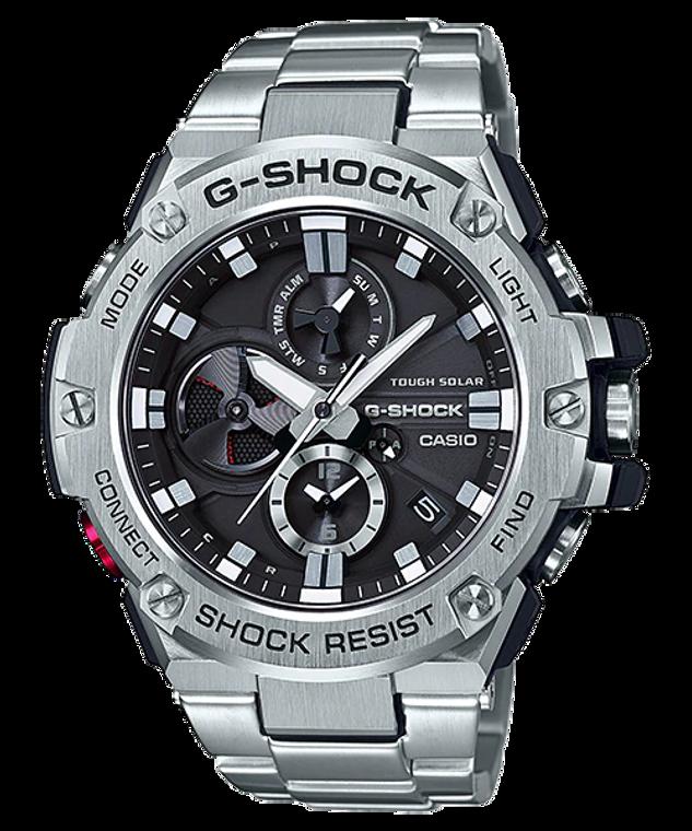 Casio G-Shock GST-B100D-1A G-STEEL Stainless Steel Analog Men's Watch
