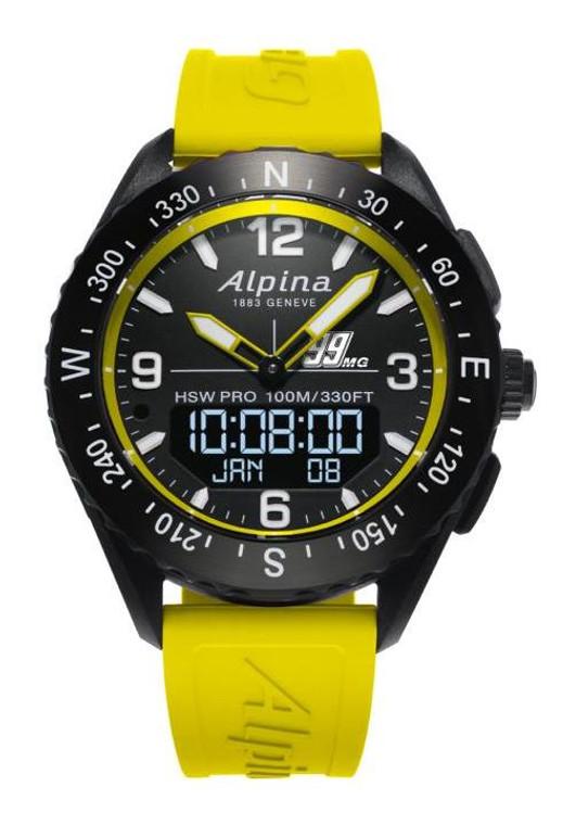 Alpina AL-283MGY5AQ6 AlpinerX Special Edition Michael Goulian Smart Watch