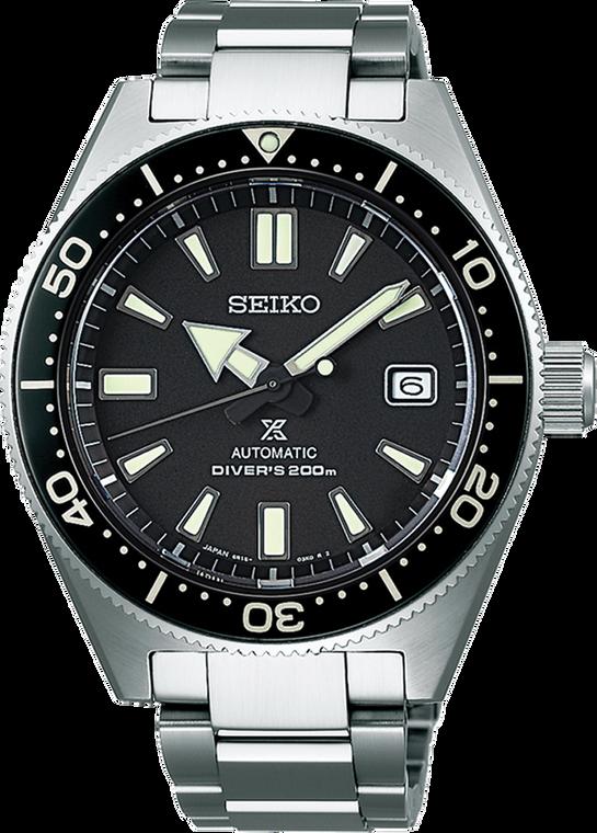 Seiko Prospex SPB051 Black Dial Bezel  Automatic Diver Stainless Steel Bracelet