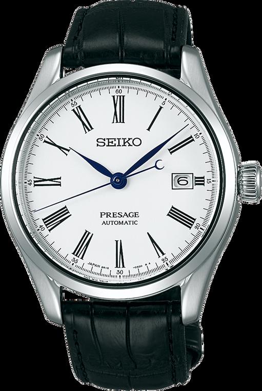 Seiko Presage SPB047 Enamel Collection White Dial Automatic Watch