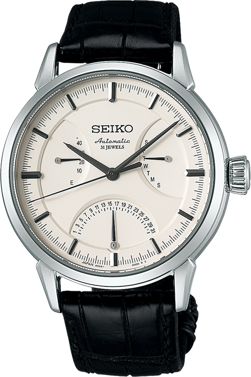 Seiko Presage SARD009 Day Date White Dial
