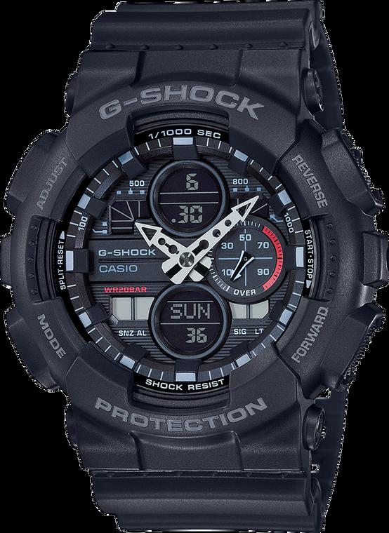 G-Shock GA140-1A1 Ana-Digi 3-Eye 2019 Black