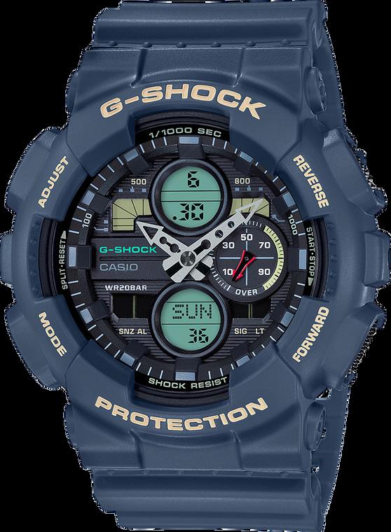 G-Shock GA140-2A Ana-Digi 3-Eye 2019 Navy