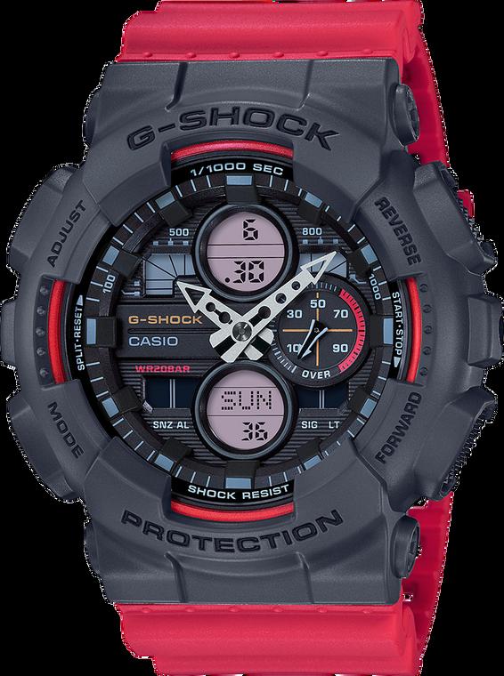 G-Shock GA140-4A Ana-Digi 3-Eye 2019 Red