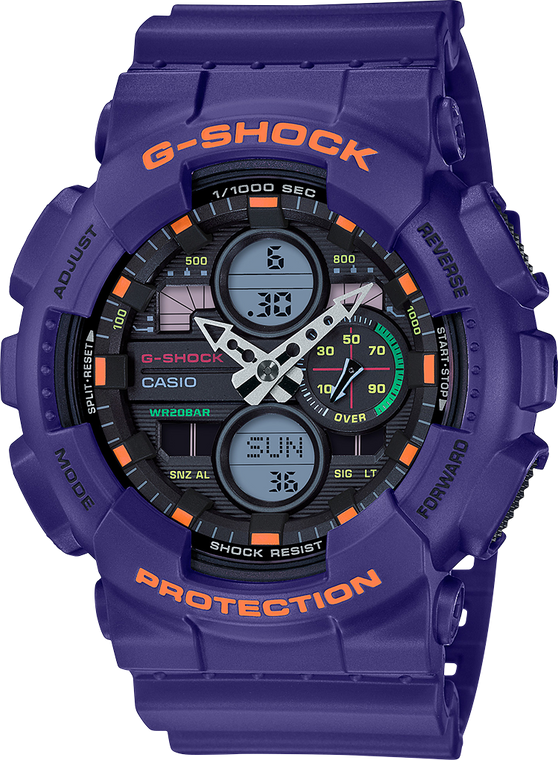 G-Shock GA140-6A Ana-Digi 3-Eye 2019 Red