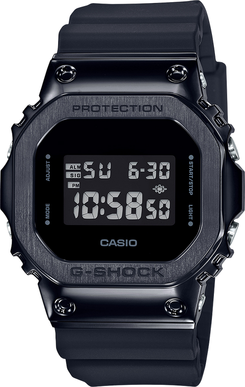 G-Shock GM5600B-1 Stainless Black Edition