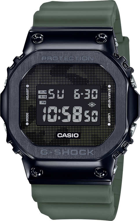 G-Shock GM5600B-3 Stainless Camo Edition