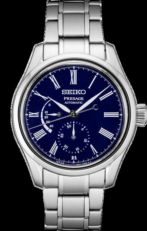 Seiko Presage SPB091 Enamel Collection Blue Dial