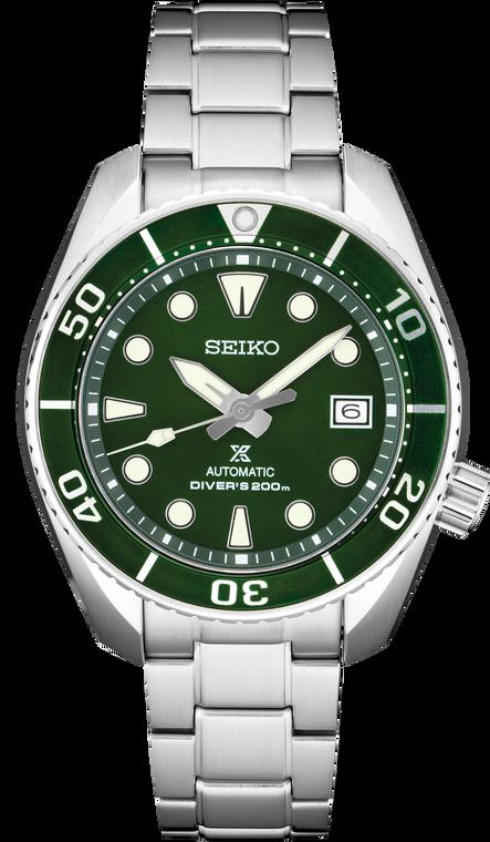 Seiko Prospex Sumo SPB103 Automatic Diver Green Dial