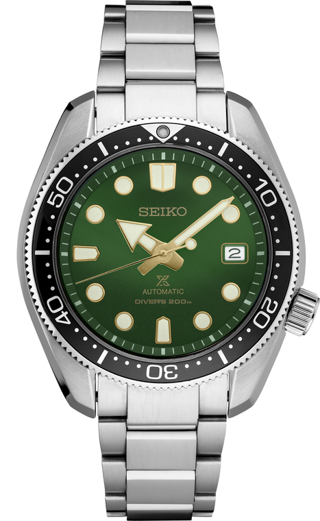 Seiko Prospex SPB105 1968 Diver's Re-creation Automatic Green Dial