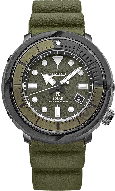 Seiko Prospex SNE535 Exclusive Green Dial Solar Diver