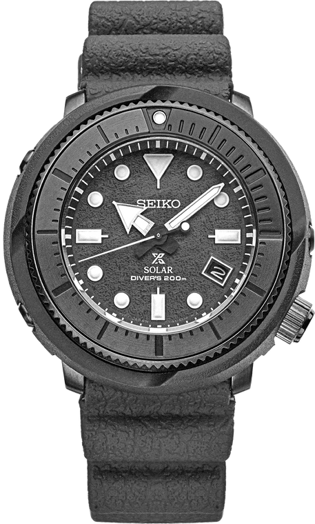 Seiko Prospex SNE537 Exclusive Black Dial Solar Diver