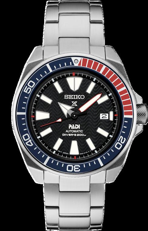 Seiko Prospex SRPB99 PADI Special Edition Automatic Diver Black Dial