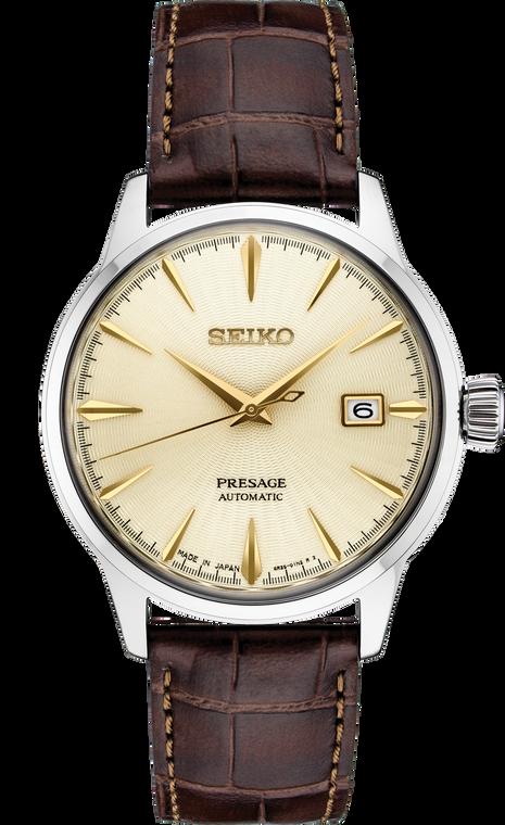 Seiko Presage SRPC99 Automatic Champagne Dial