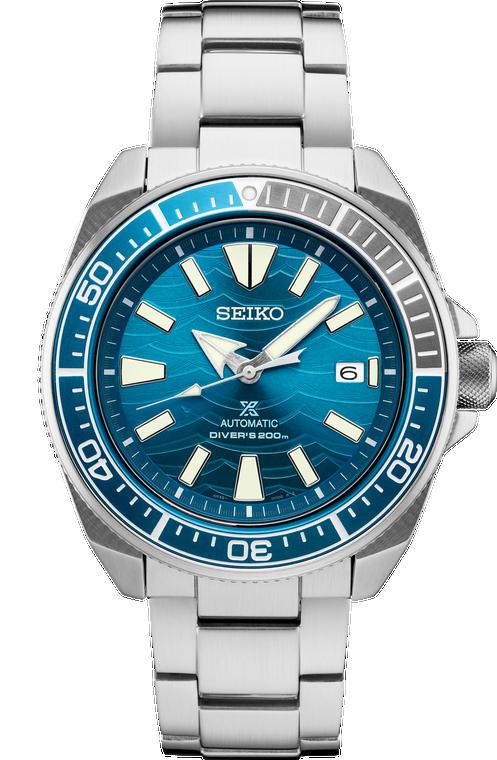 Seiko Prospex SRPD23 Automatic Diver Wave Blue Dial
