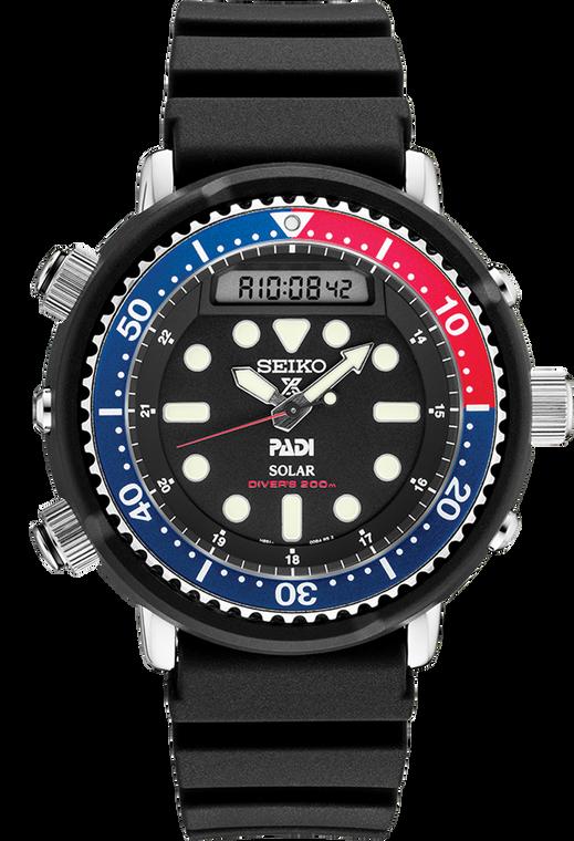 Seiko Prospex SNJ027 PADI 1982 Arnie Padi Hybrid Diver's Watch