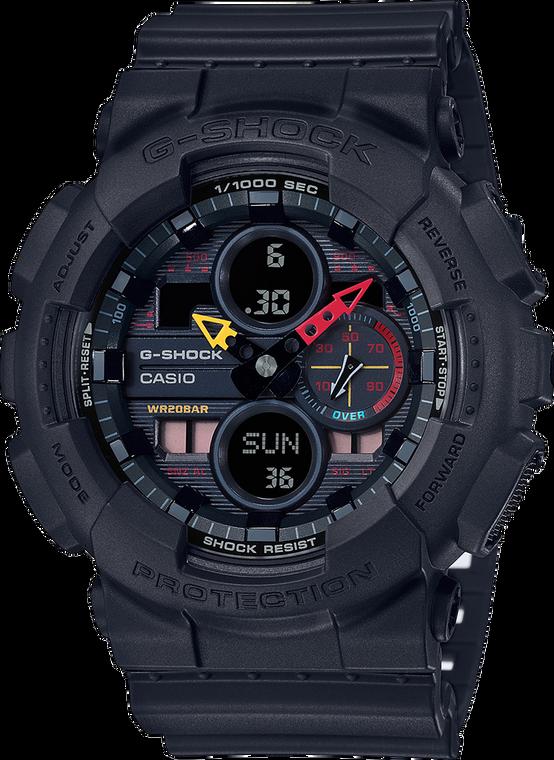 G-Shock GA140BMC-1A Neo Tokyo Ana-Digi Flash