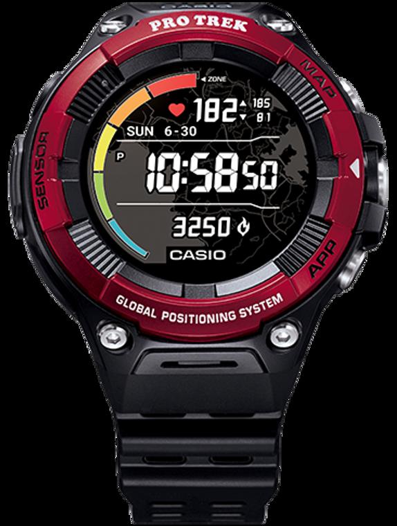 G-Shock WSD-F21HRRD Pro-Trek Google Wear OS SmartWatch