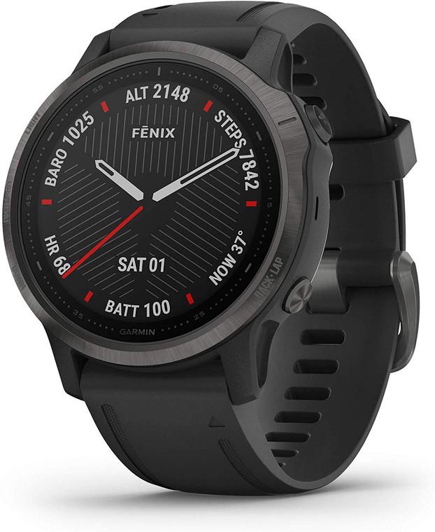 Garmin 010-02159-24 Fenix 6S Carbon Gray DLC